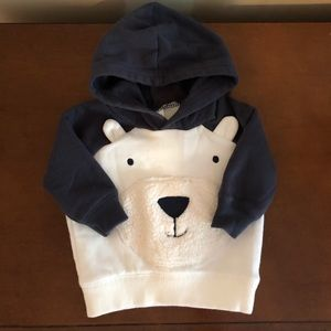 Carter's polar bear pullover sweatshirt